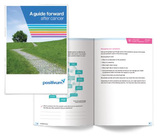 Positivum: guide forward after cancer book