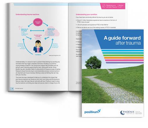 Positivum: guide forward after trauma book
